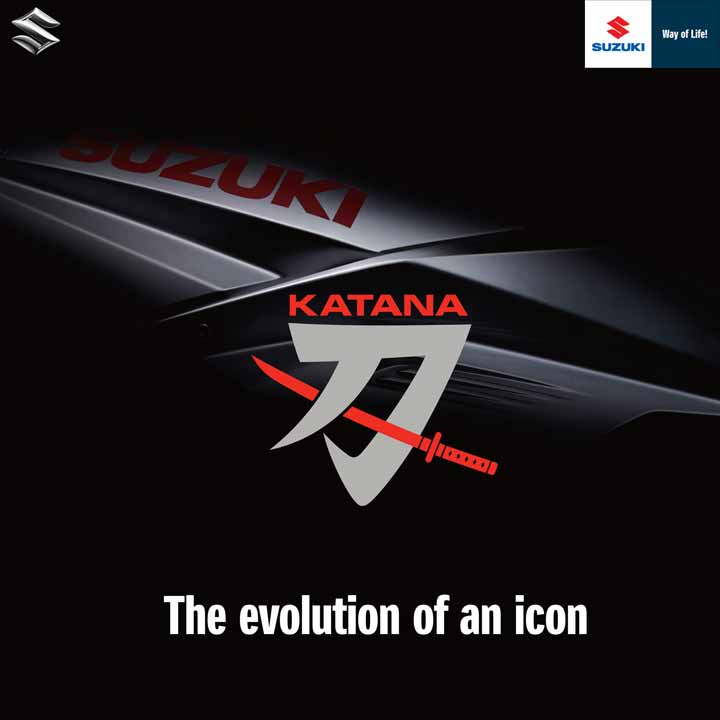 Save the planet – click the button to download the 2019 Suzuki Katana Brochure.