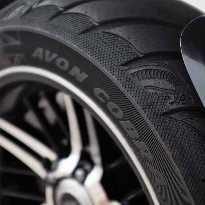 HIGH-SPECIFICATION DEDICATED TYRES