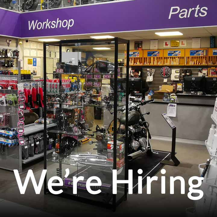 We have an exciting opportunity in our busy parts and accessories department.