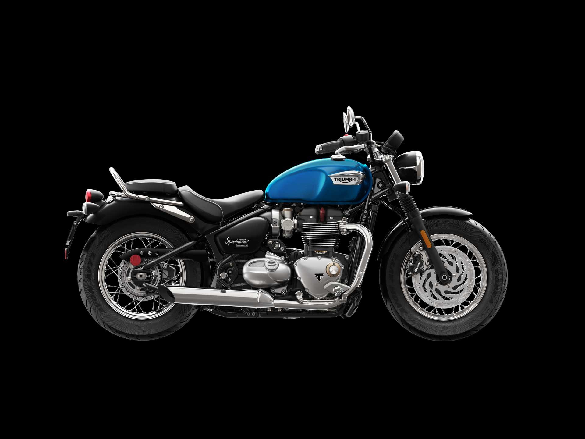 Triumph Bonneville Bobber or Speedmaster Chrome Dresser Bar Kit A9780027